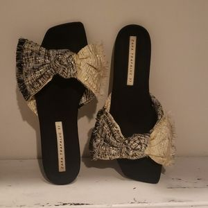 Zara Shoes - Zara bow flats